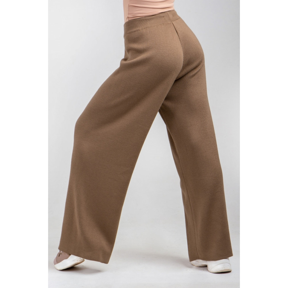 Карамельные брюки-палаццо фото 1