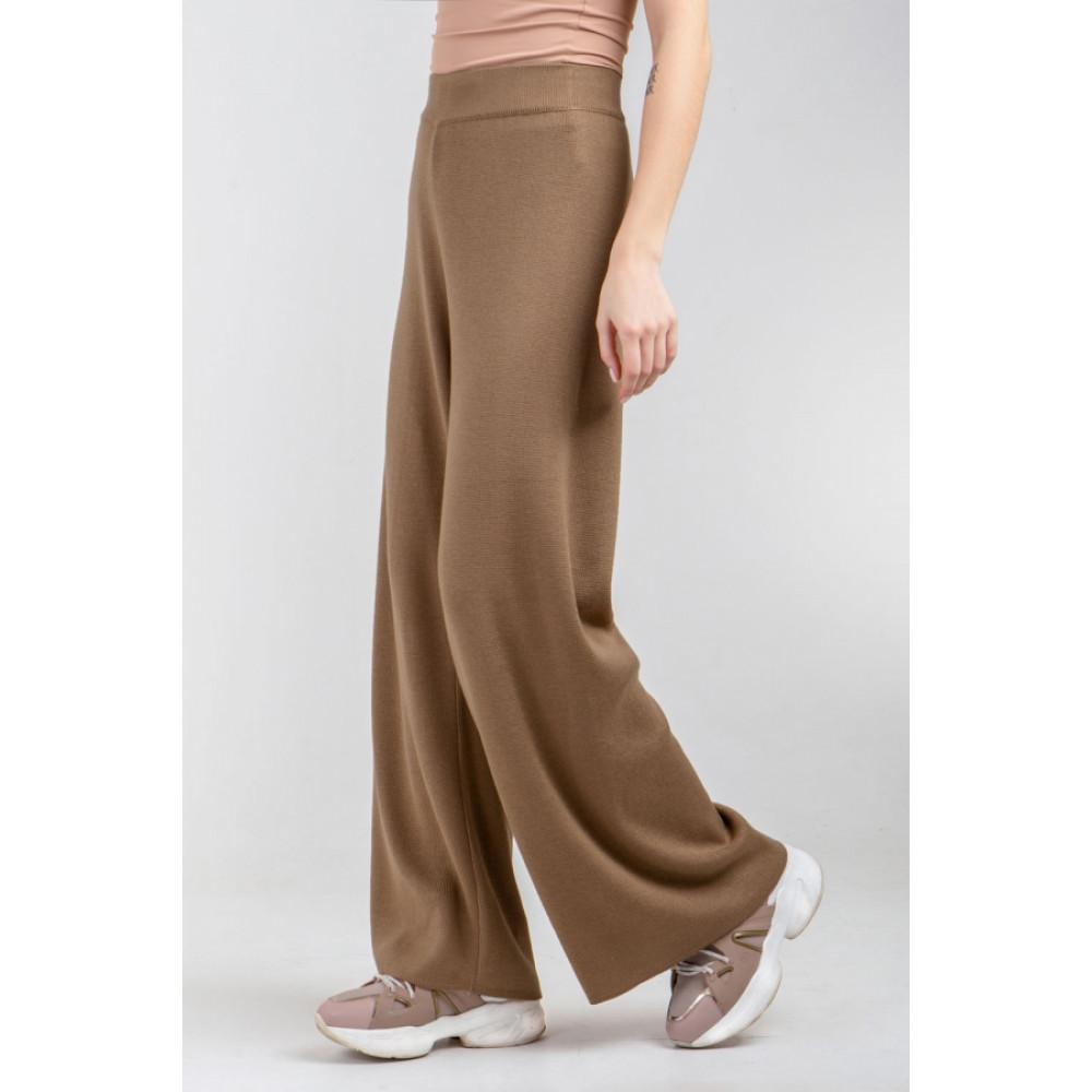 Карамельные брюки-палаццо фото 2