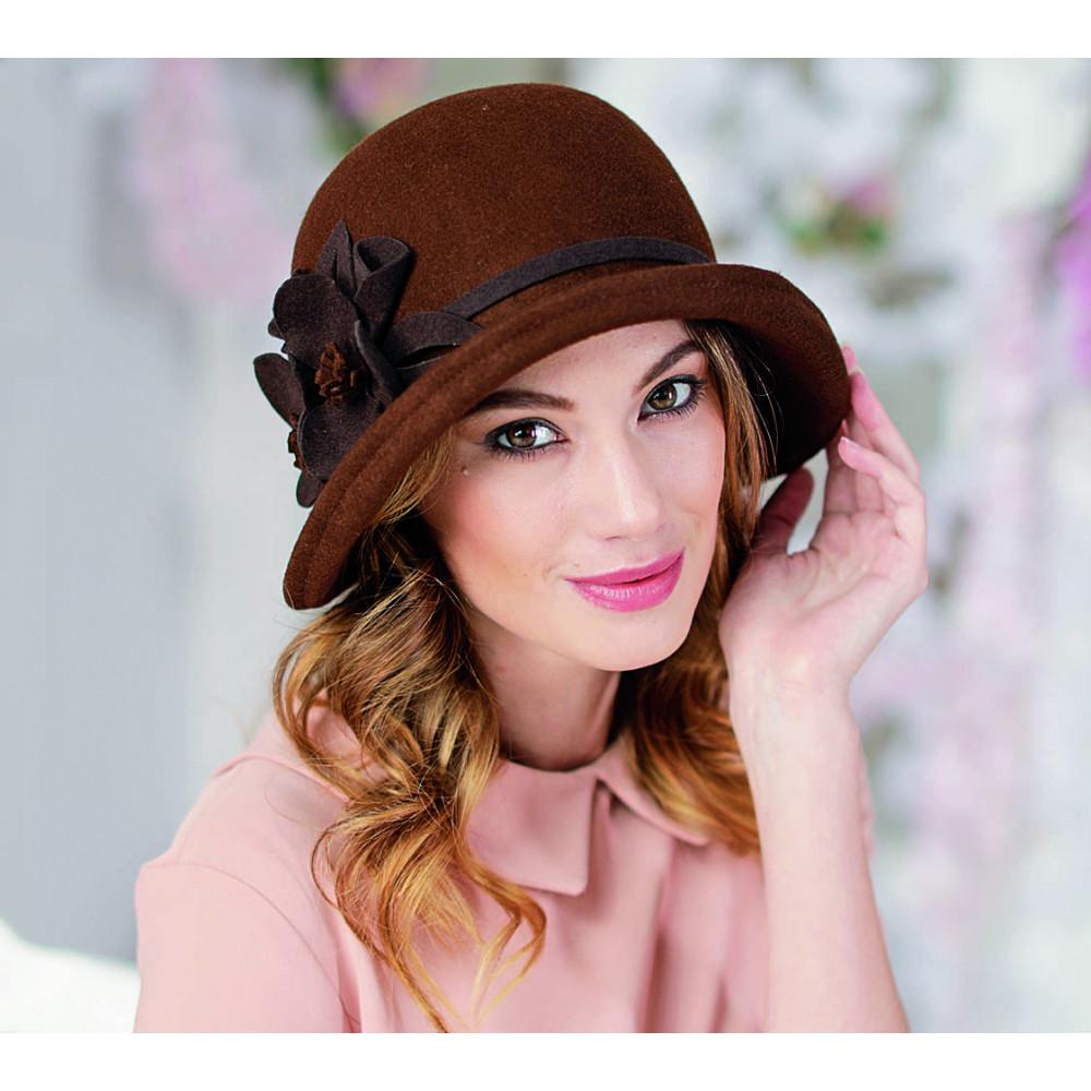 Изумительная шляпа в стиле ретро 286-1 фото 1