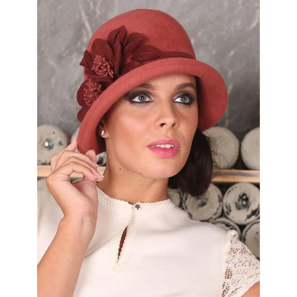 Изумительная шляпа в стиле ретро 286-1 фото 2