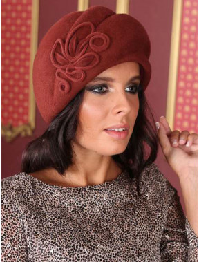Теплий жіночий капелюх 283-1