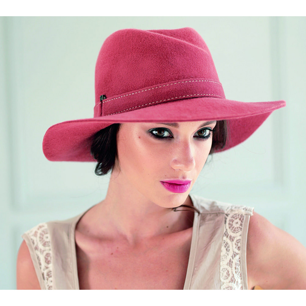 Цікавий жіночий капелюх 307-3 фото 2