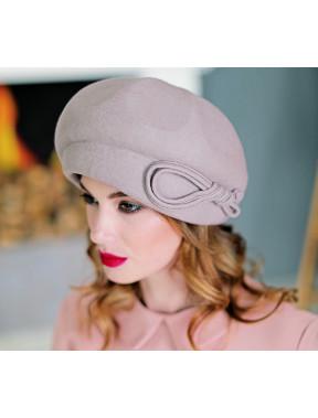Об'ємний фетровий капелюх 285-1