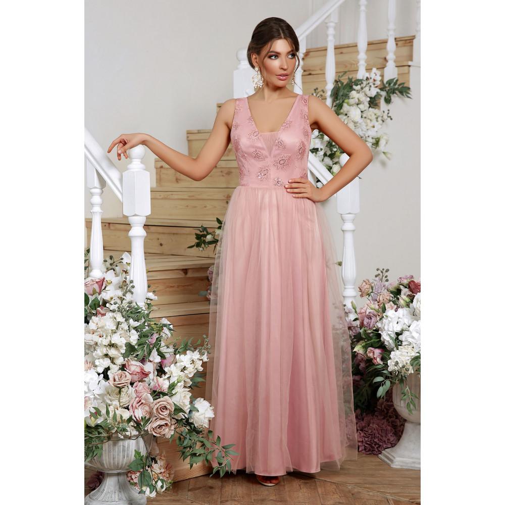 Волшебное атласное платье Вайнона фото 1