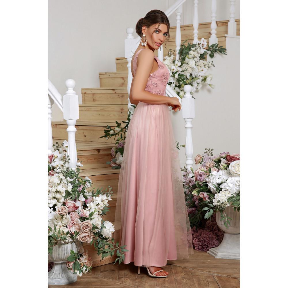 Волшебное атласное платье Вайнона фото 2