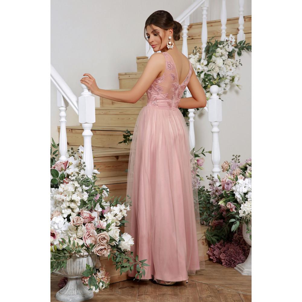 Волшебное атласное платье Вайнона фото 3