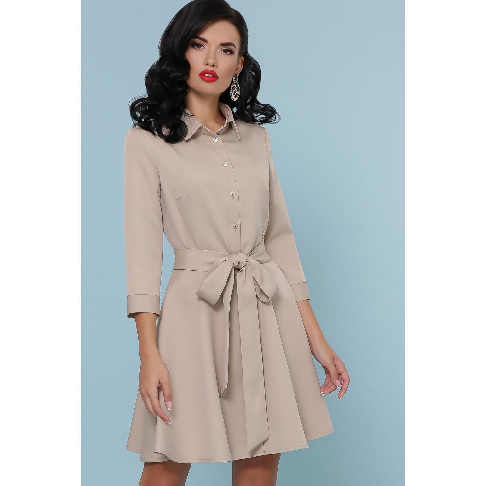 Красивое расклешенное платье-мини Ефима фото 2
