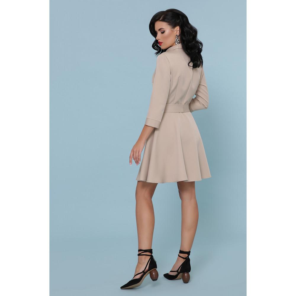 Красивое расклешенное платье-мини Ефима фото 4