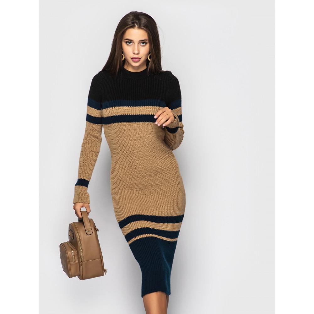 Контрастное уютное платье Alyaska фото 1