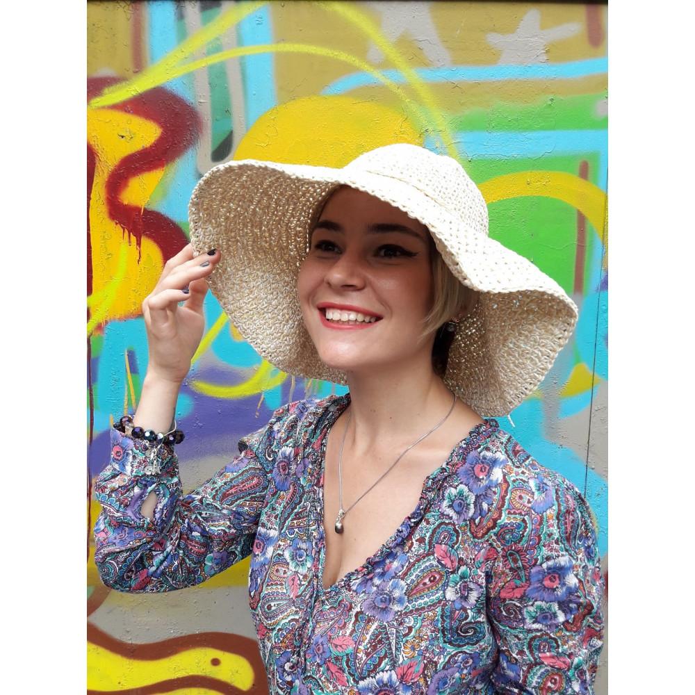 Женственная летняя шляпа фото 2