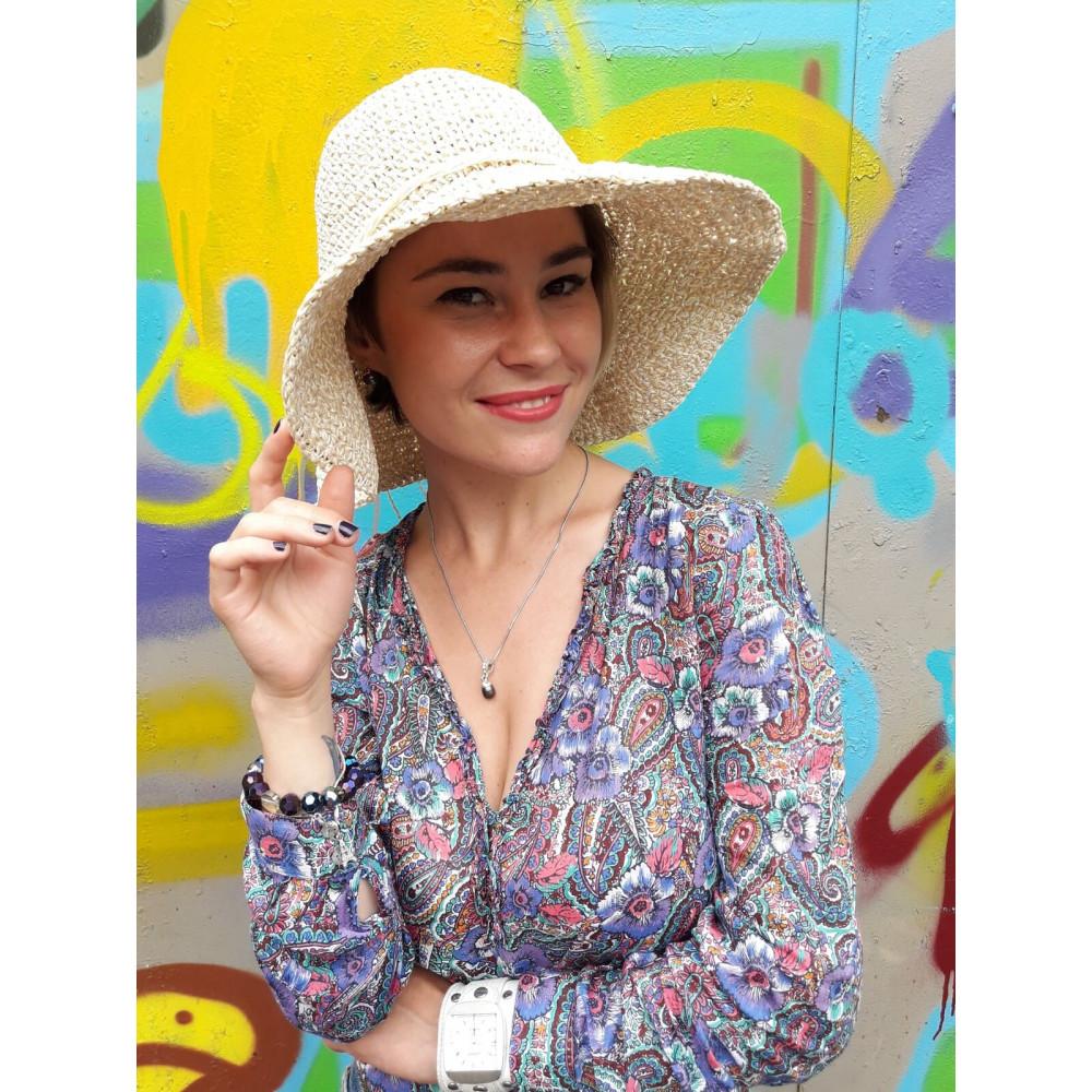 Женственная летняя шляпа фото 3