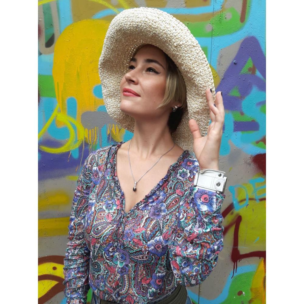 Женственная летняя шляпа фото 1