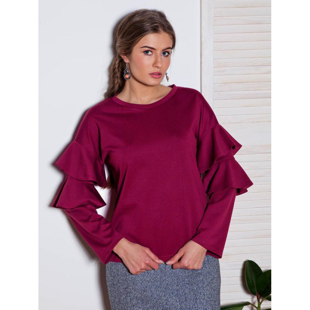 Блузка с воланами Ванда фото 1