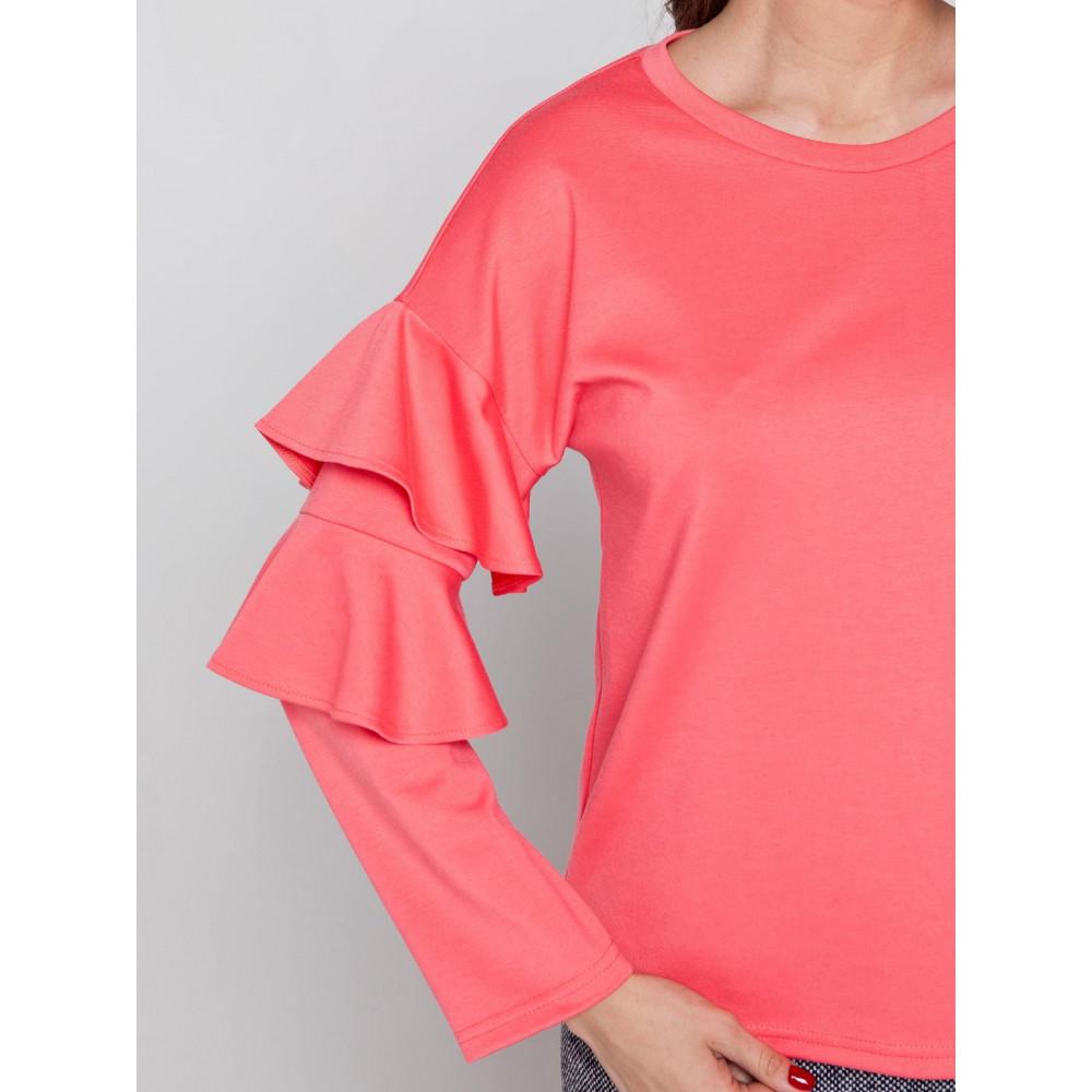 Блузка с воланами Ванда фото 2