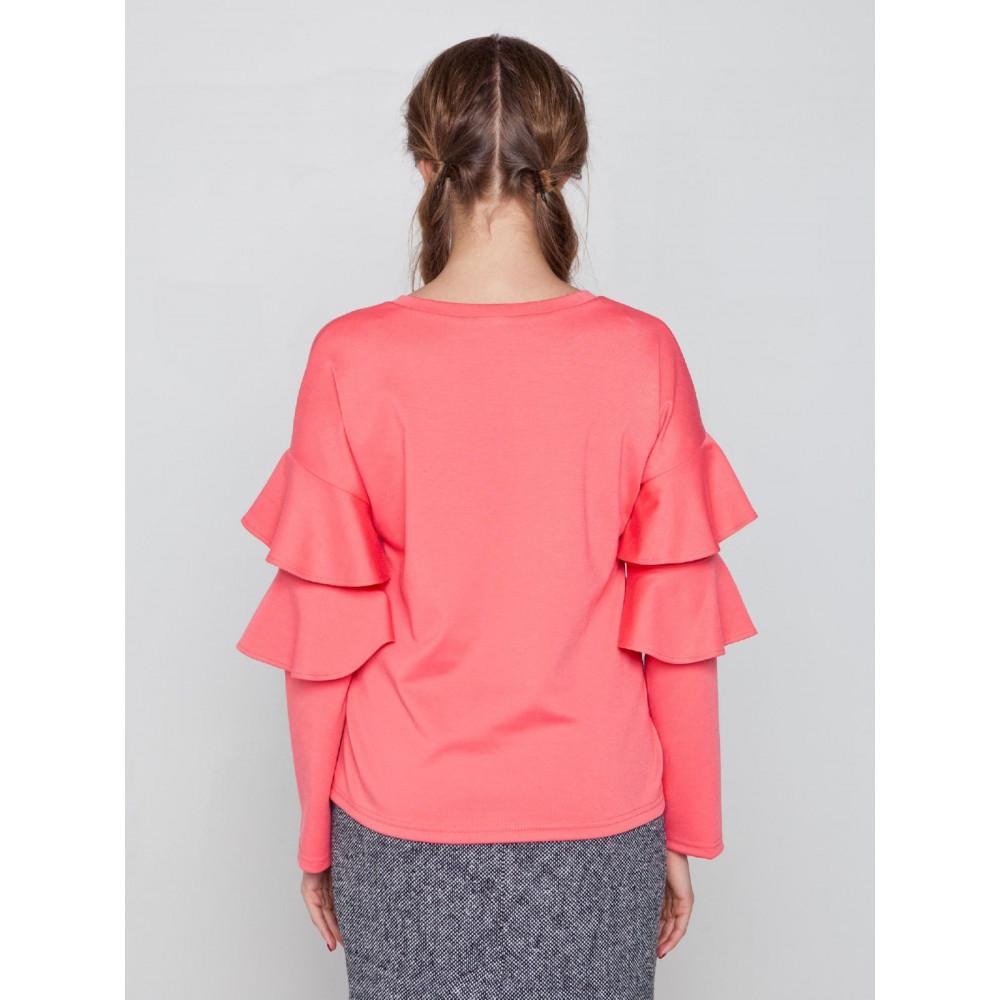 Блузка с воланами Ванда фото 3