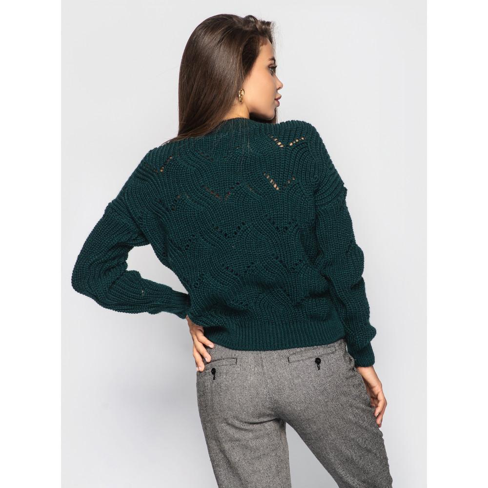 Изумрудный свитер Sonata  фото 2
