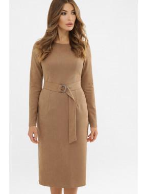 Лаконичное платье-футляр Гелия
