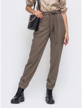 Свободные брюки из джерси