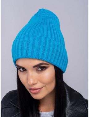 Яскрава лазурна шапка Мадера