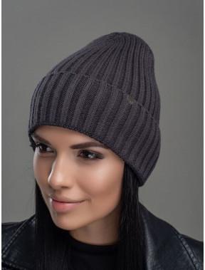 Темно-сіра шапка Мадера