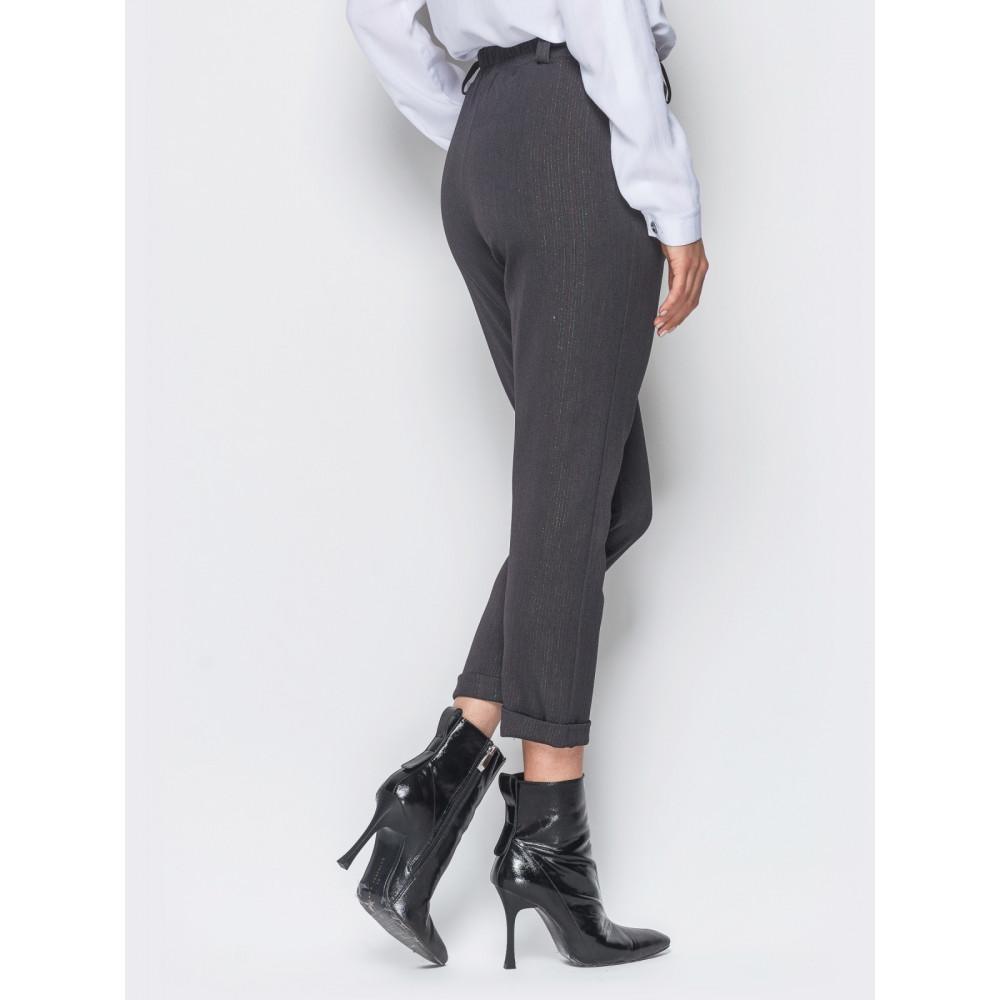 Интересные женские укороченные брюки 7/8 фото 3