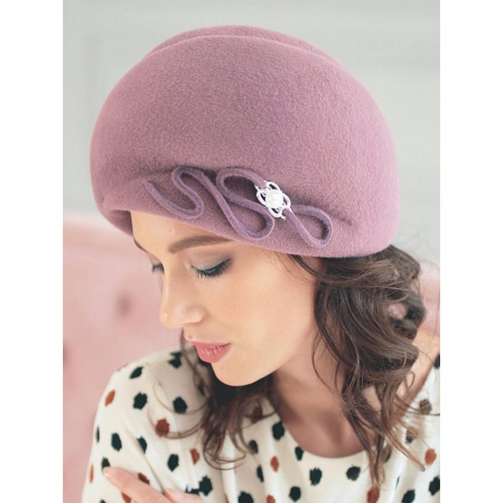 Женственная шляпа с декором 314-3 фото 1