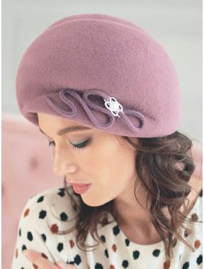 Жіночний капелюх з декором 314-3