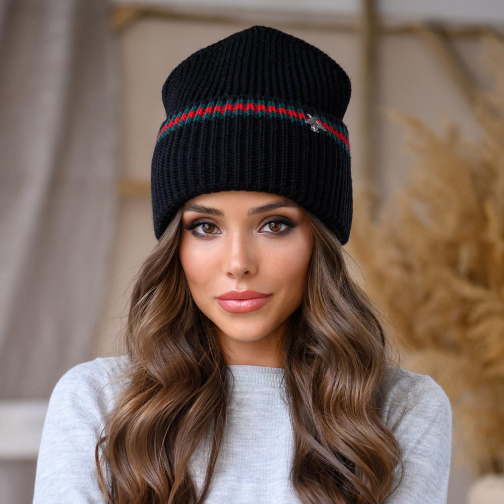 Зимняя молодежная шапка Ритм фото 1