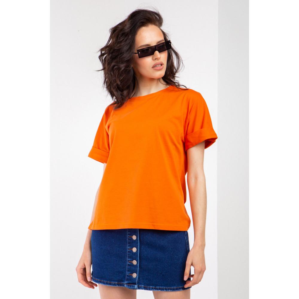 Апельсиновая практичная футболка Джуди фото 1