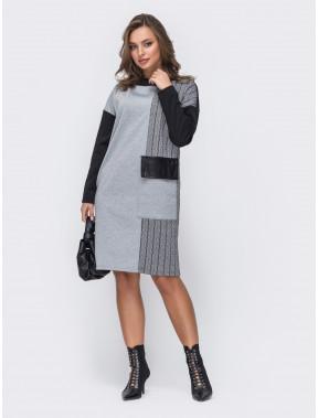 Свободное женское платье Кирстен