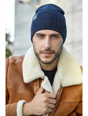 Мужская шапка с манжетом Мельбурн