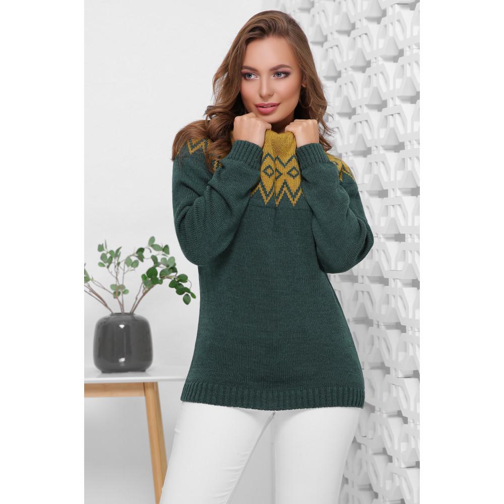 Изумрудный свитер Иренка фото 1