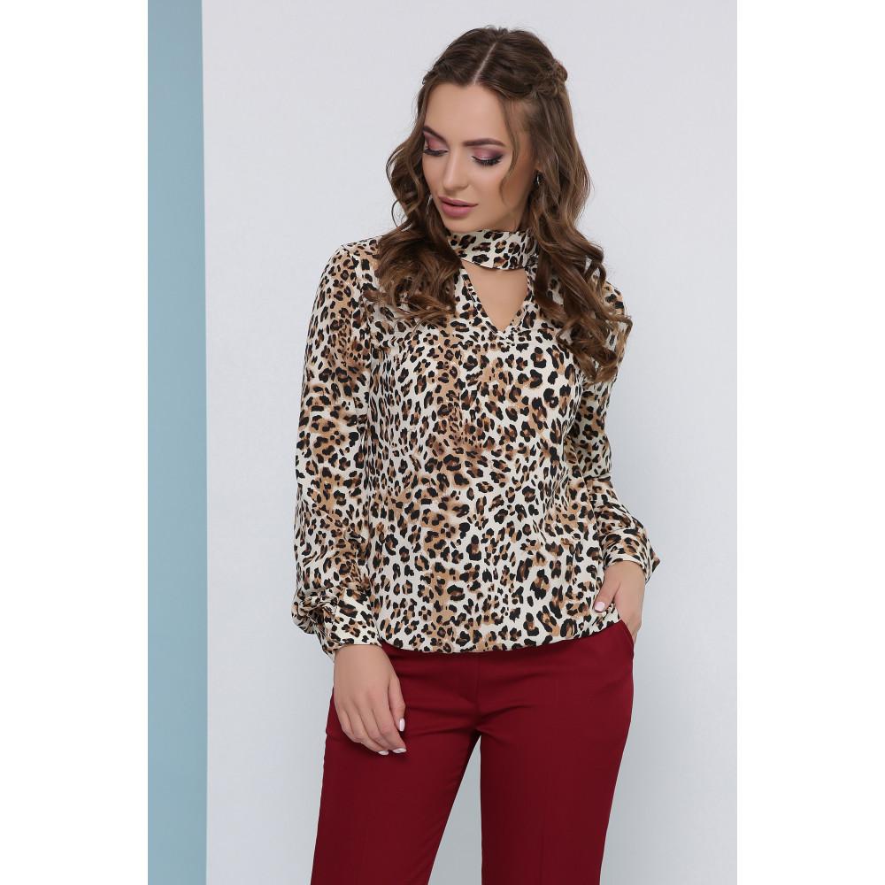 Интересная блуза с чокером фото 1