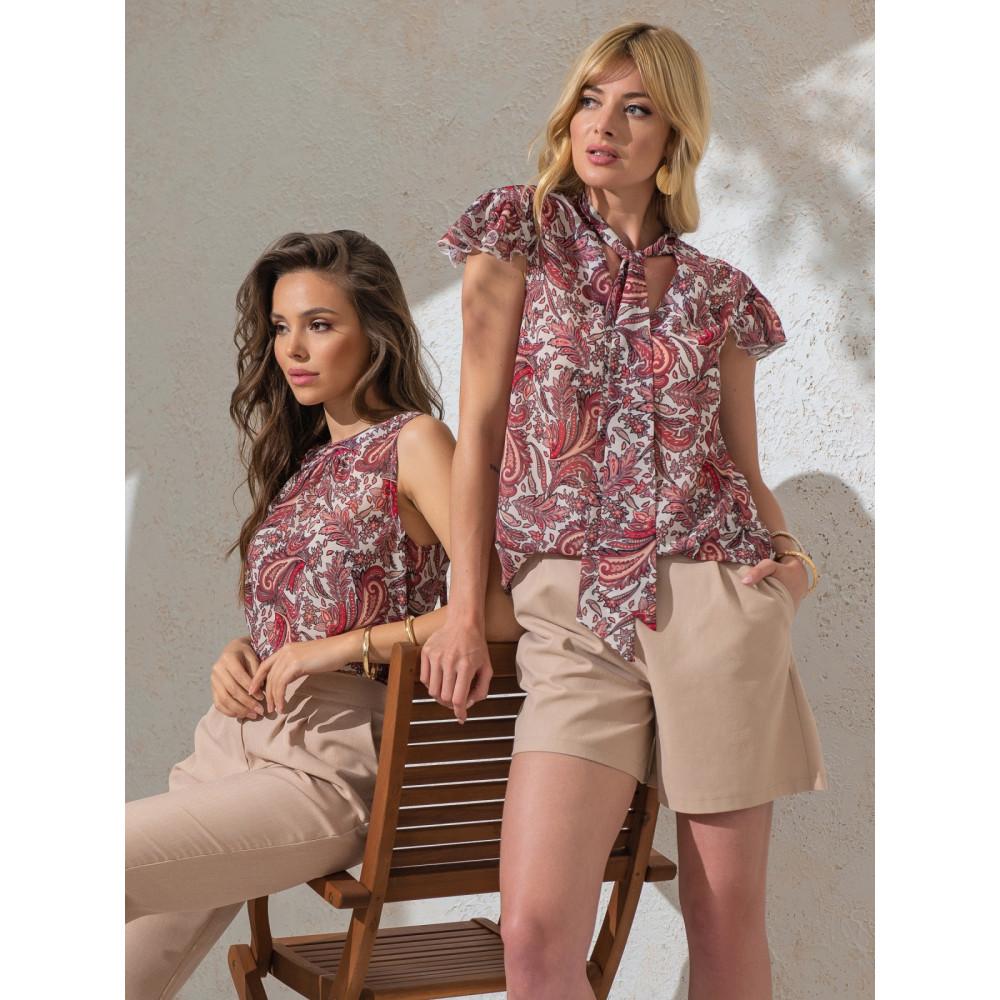 Изысканная блузка с бантом фото 1