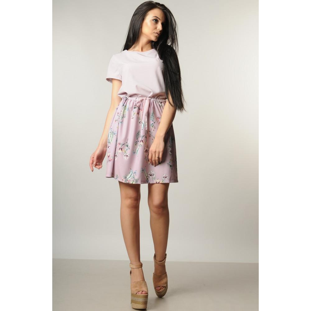Лиловое платье с нежным рисунком Элли фото 1