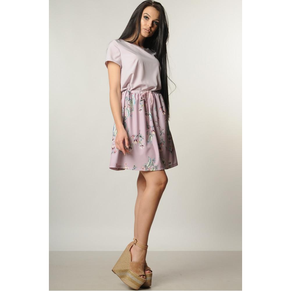 Лиловое платье с нежным рисунком Элли фото 2