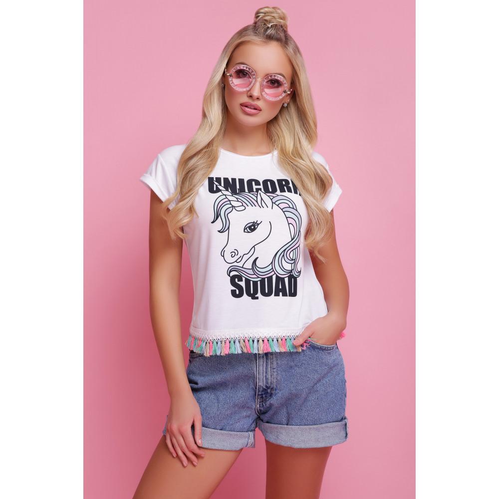 Молодежная футболка с принтом Unicorn Squad фото 2