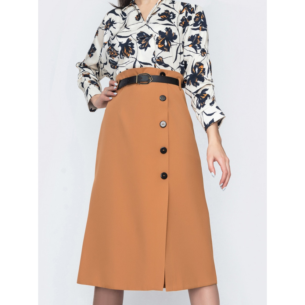 Классическая юбка-миди фото 1