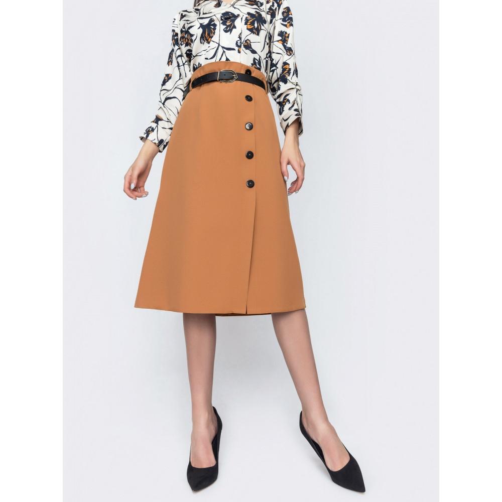 Классическая юбка-миди фото 2