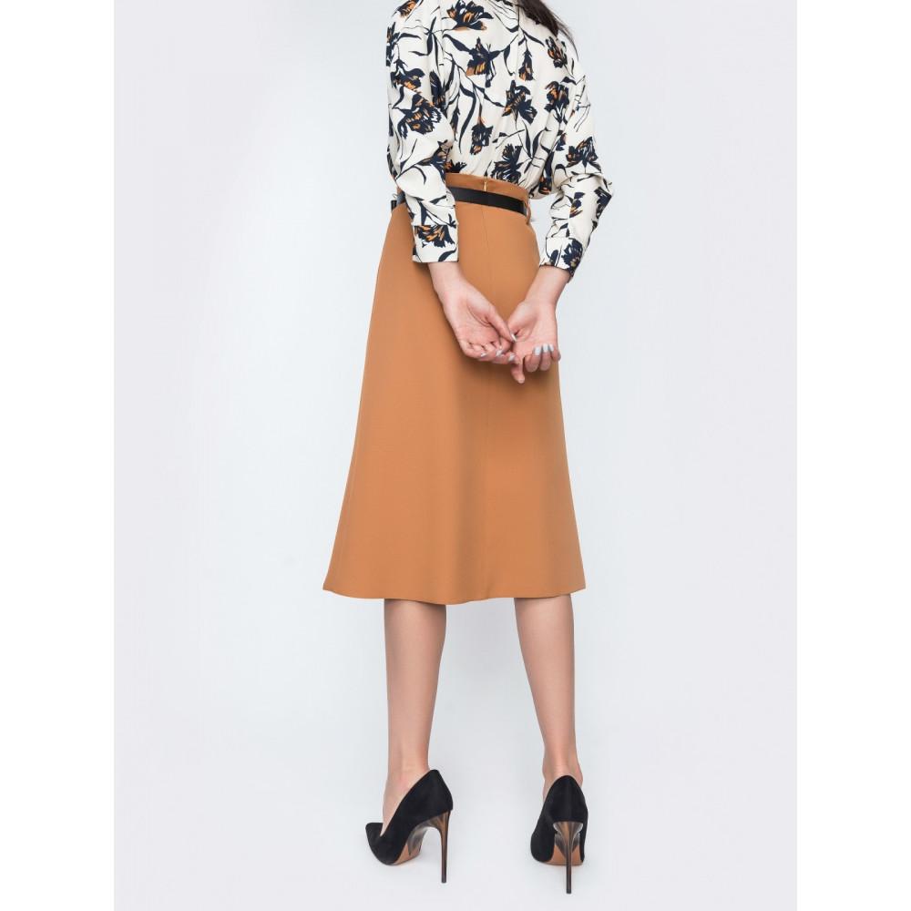 Классическая юбка-миди фото 3