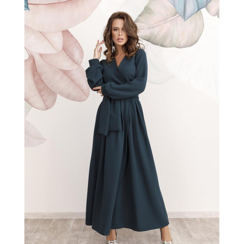 Коктейльное платье-макси Бланка фото 1