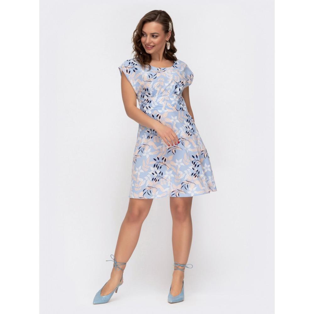 Воздушное приталенное платье Надежда фото 1