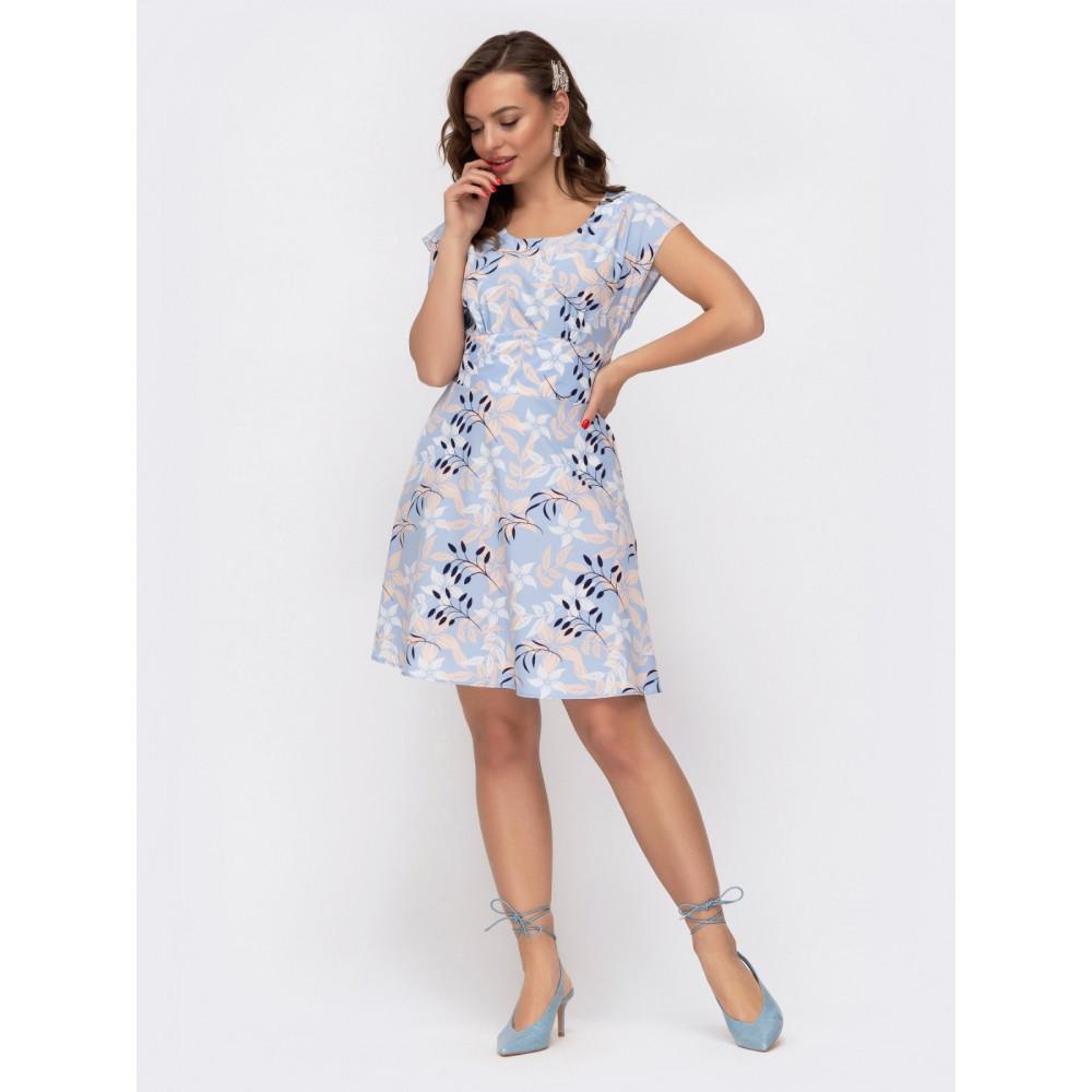 Воздушное приталенное платье Надежда фото 2