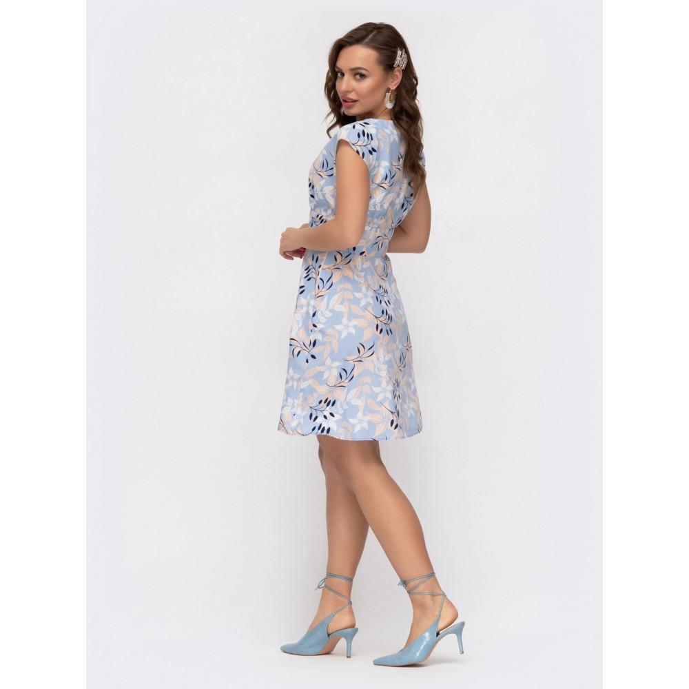 Воздушное приталенное платье Надежда фото 3