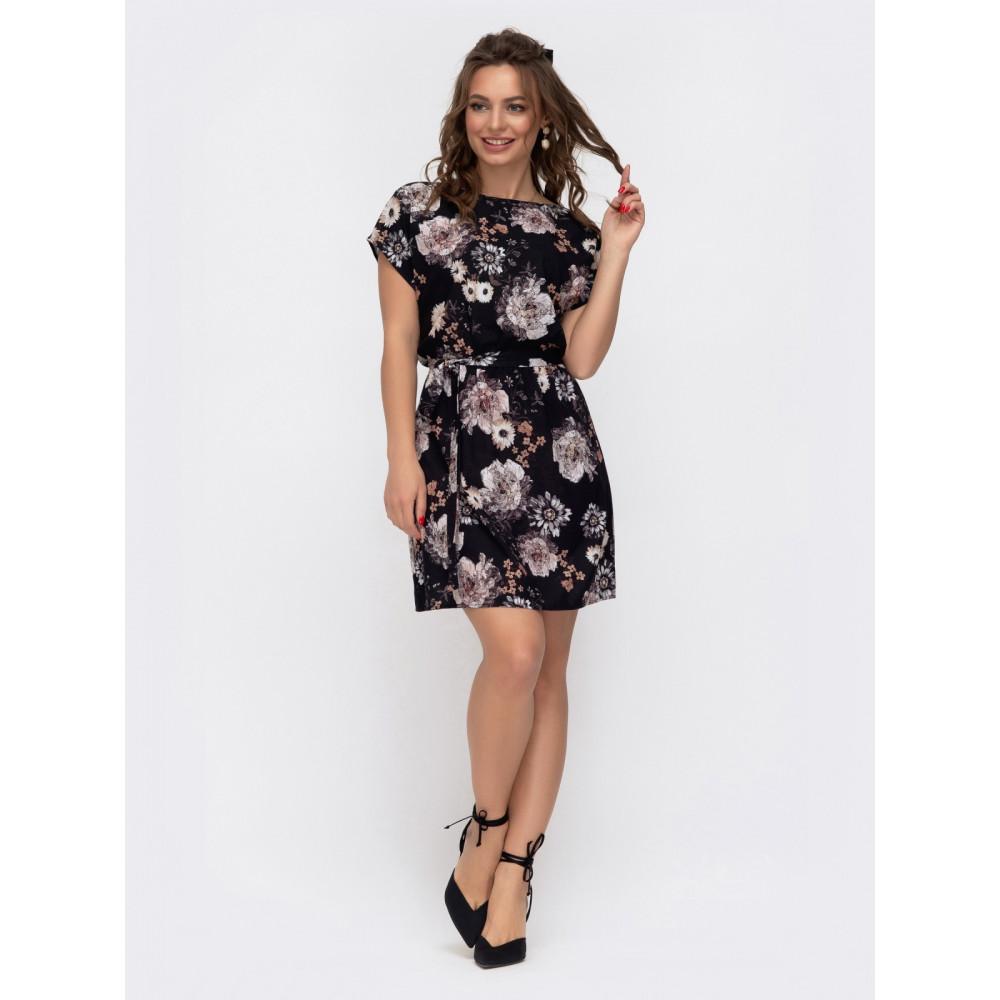 Летнее платье в цветы Поля фото 1