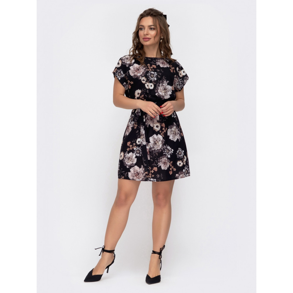 Летнее платье в цветы Поля фото 2