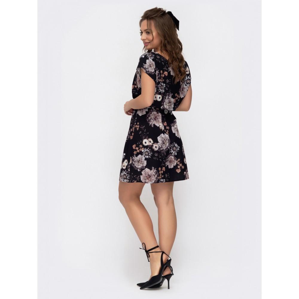 Летнее платье в цветы Поля фото 3