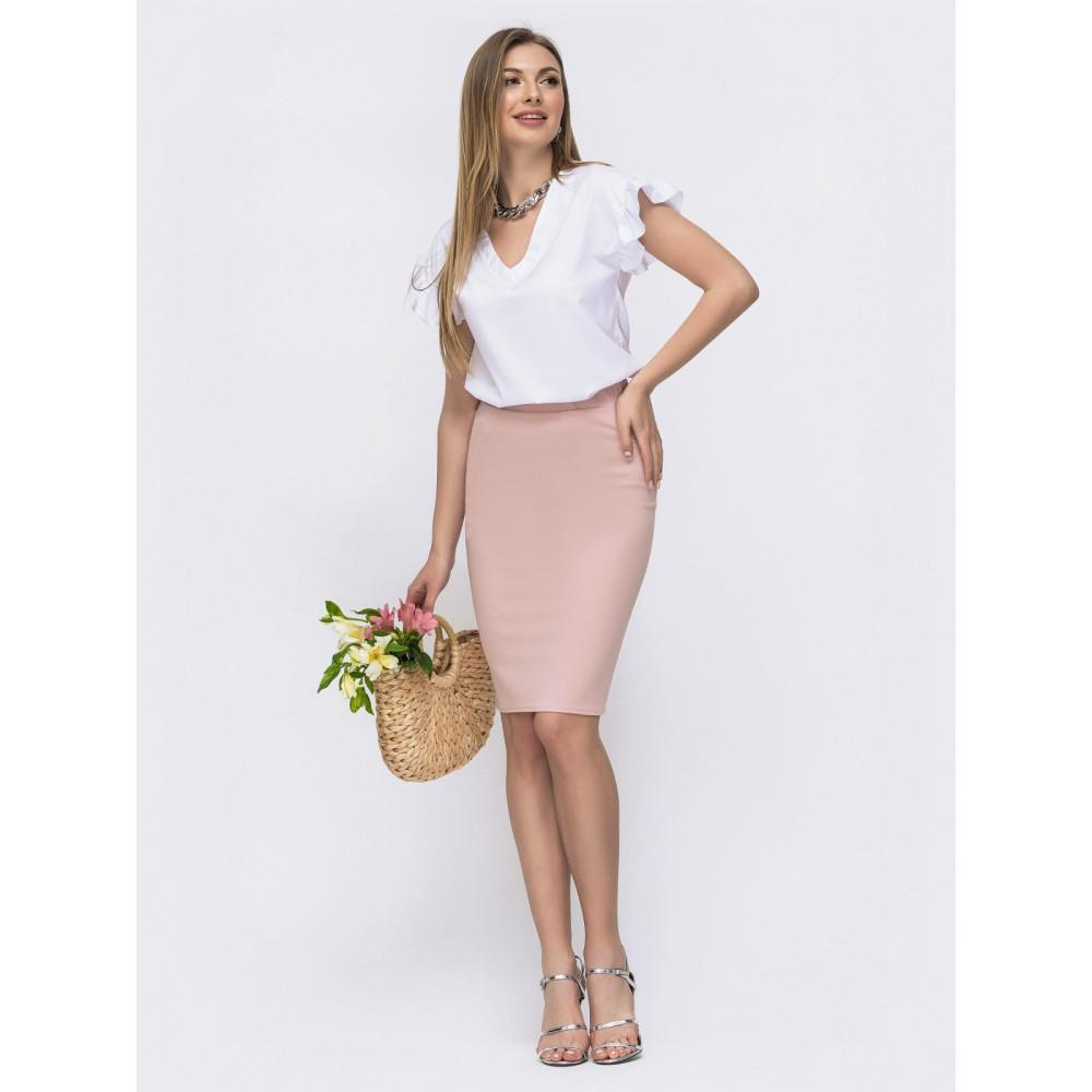 Интересный комплект блузка+юбка Миринда фото 1