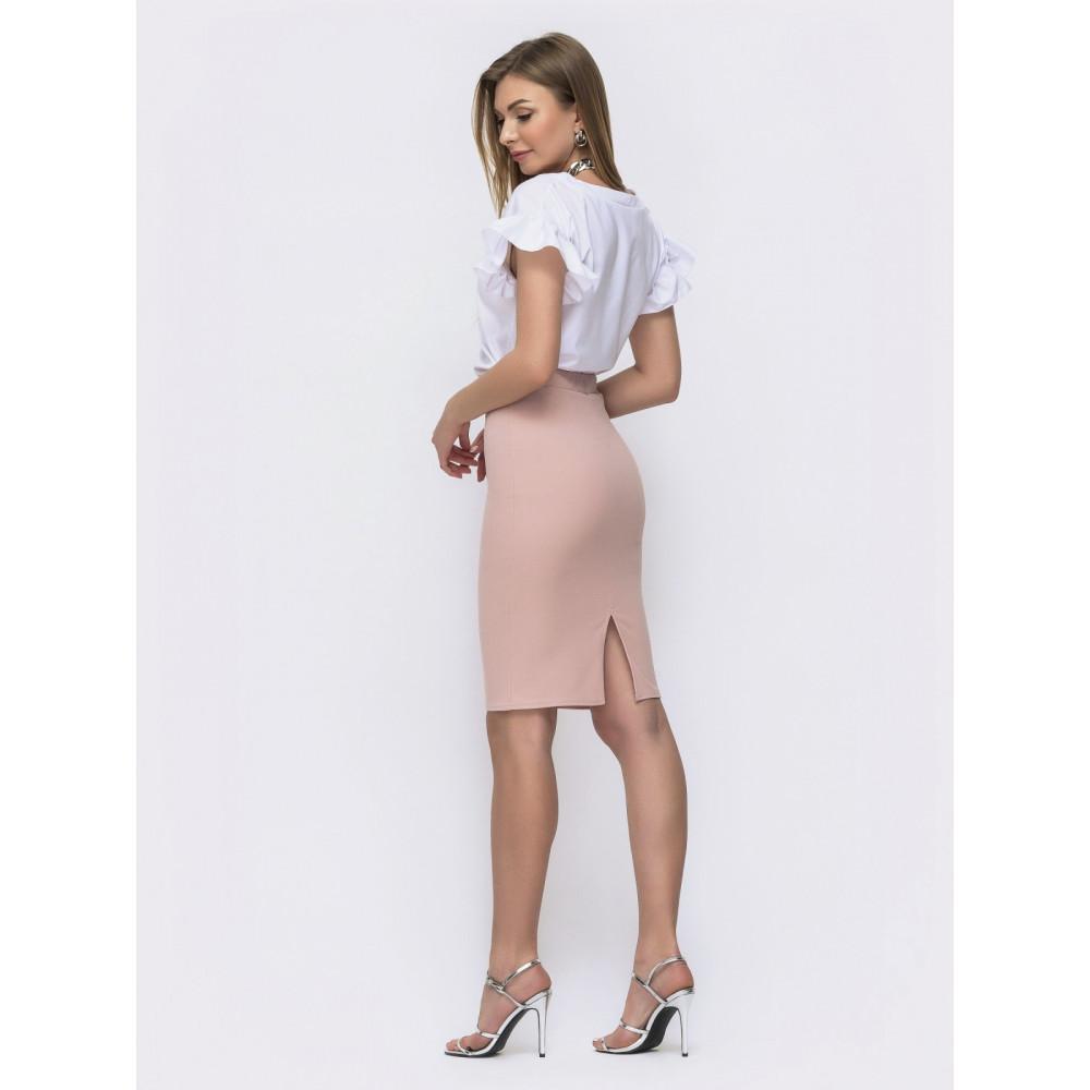 Интересный комплект блузка+юбка Миринда фото 2