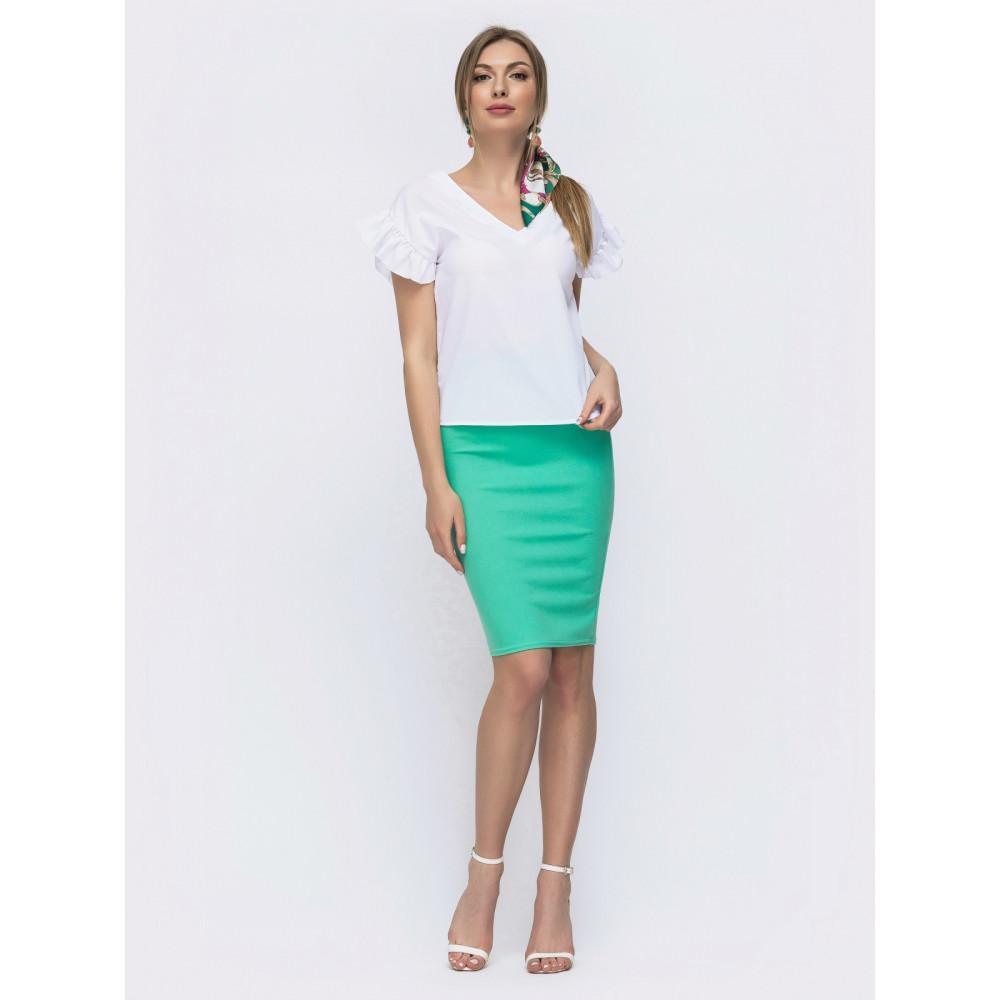 Жіночний комплект із спідниці та блузки Мірінда фото 1